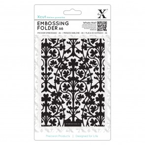 A6 Embossing  Folder - Clover Leaves