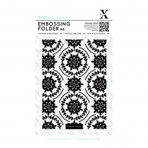 A6 Embossing Folder - Ornate Foliage