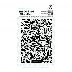 A6 Embossing Folder - Festive Florals