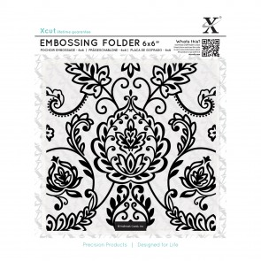 "6x6"" Embossing Folder - Arts & Crafts Tile"
