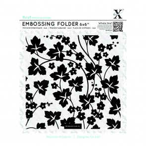 "6x6"" Embossing Folder - Flowers and Ivy"