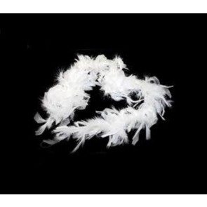 Feather Boa White (1.8 Metres)
