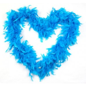 Feather Boa Turquoise (1.8 Metres)