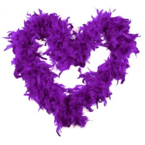 Feather Boa Purple (1.8 Metres)