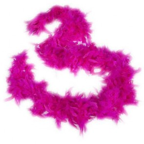 Feather Boa Cerise (1.8 Metres)