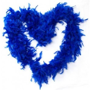 Feather Boa Blue (1.8 Metres)