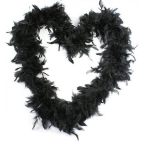 Feather Boa Black (1.8 Metres)