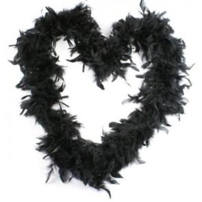 Feather Boa Black (1.8 Metres)