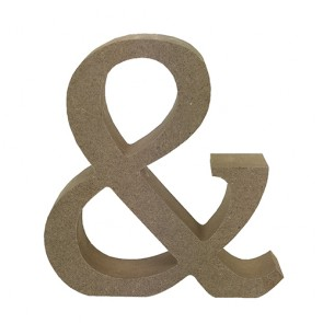 Wood Letter 11cm Natural &