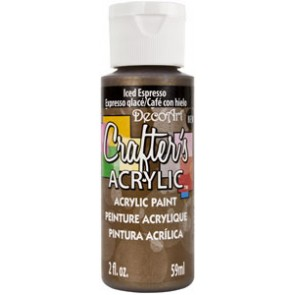 Acrylic Paint (2oz) - Metallic Iced Espresso