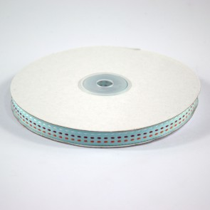 Multi Colour Triple Stitch Ribbon 12mm Baby Blue (22.8 Metres)