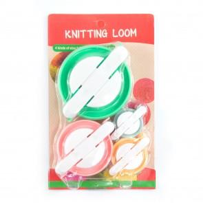 Pom-Pom Loom Set (Sml, Med, Lrg, XL)