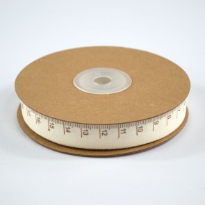 Cotton Ribbon 15mm Measuring Tape (18 Metres)