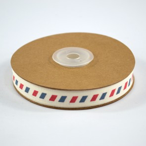 Cotton Ribbon 15mm Airmail (18 Metres)