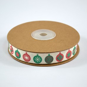 Cotton Ribbon 15mm Baubles (18 Metres)