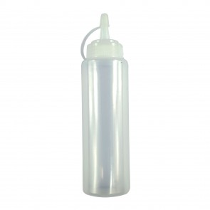 Plastic Squeezy Bottle 8 oz (227ml)