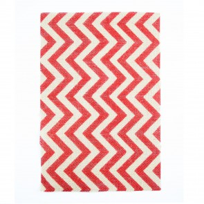 Burlap Sheet A4 Chevrons Red (2 Pack)