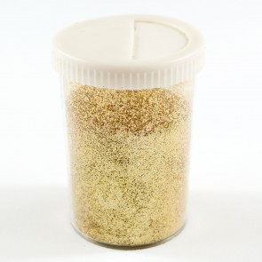 Fine Glitter Shaker 100g Light Gold