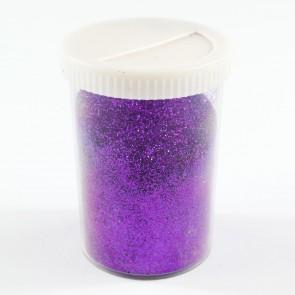 Fine Glitter Shaker 100g Purple