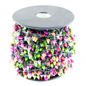 Christmas Lights Trim Metallic 12mm (50 Metres)