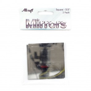 "Mirrors Square 2.5"" (3 Pack)"