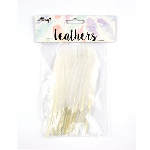 Duck Feather 13cm White (15 Pack)