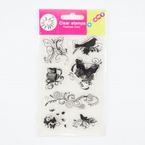 Clear Stamp A6 Spring Eleme (7 Pieces)