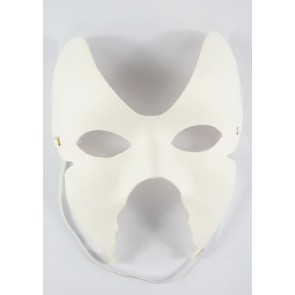 Mask White 16 x 18cm Butterfly