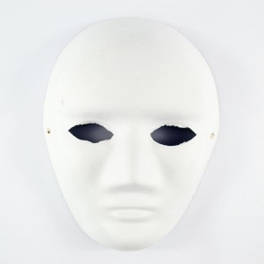 Mask White 18 x 24cm Full Face