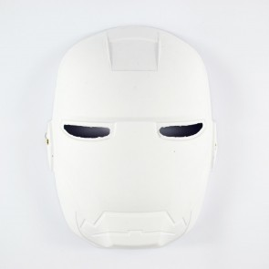 Mask White 17 x 23cm Superhero