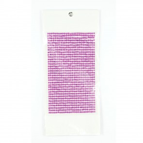 Sticky Pearls 3mm (910 Pieces) Purple