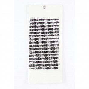 Sticky Pearls 3mm (910 Pieces) Black