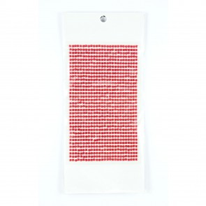 Sticky Pearls 3mm (910 Pieces) Red