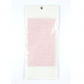 Sticky Pearls 3mm (910 Pieces) Pink