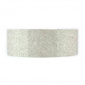 Glitter Tape 8mm X Mtr Silver