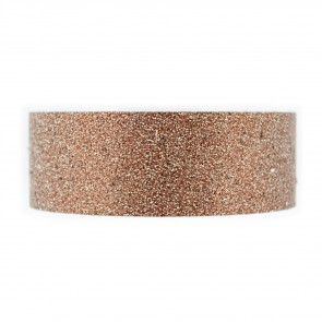 Glitter Tape 8mm X Mtr Brown