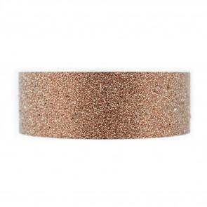 Glitter Tape 8mm X Mtr Brown