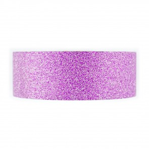 Glitter Tape 30mm X 4 Mtr Purple
