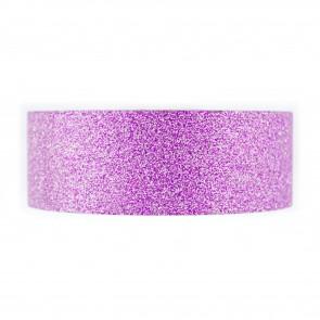 Glitter Tape 30mm X 4 Mtr Purple