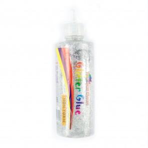 Glitter Glue 125G Silver