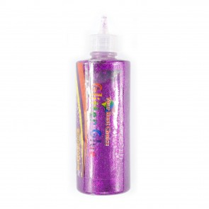 Glitter Glue 125G Cerise