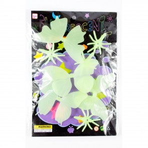 Glow In The Dark Shapes Butterflies/Bugs