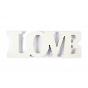 Wood Love White 32.5 x 11.3 x 1.9cm