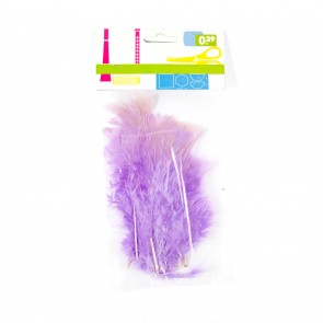 Turkey Feather (20 Pack) Lilac