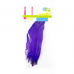 Goose Feather (12 Pack) Purple