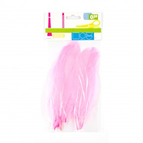 Goose Feather (12 Pack) Pink