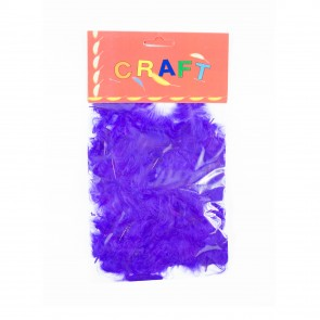 Hen Feather (50 Pack) Purple