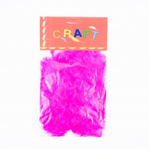 Hen Feather (50 Pack) Cerise