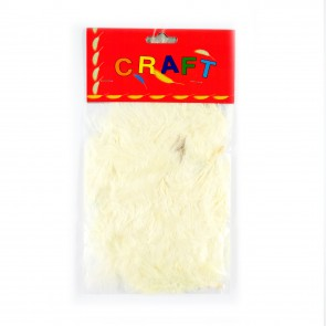 Hen Feather (50 Pack) Cream