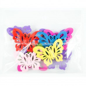 Laser Cut Wood Shape (10 Pack) Assorted Butterfly